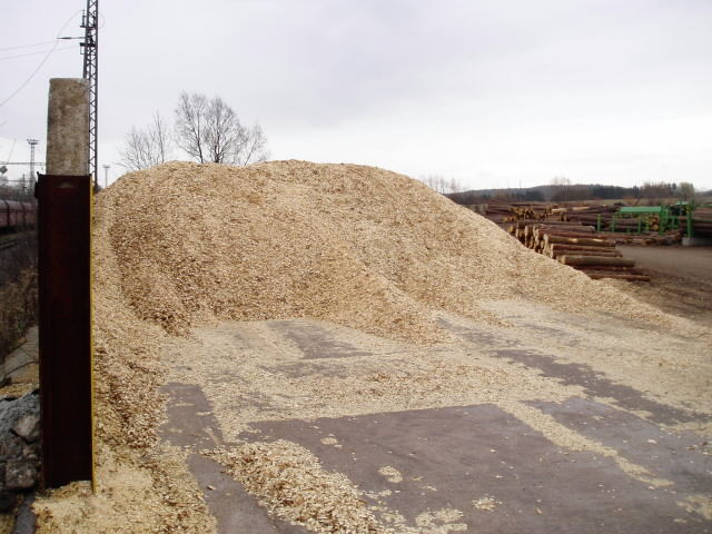 Production waste – ground wood