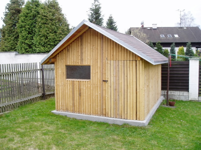 Example of usage - garden shed